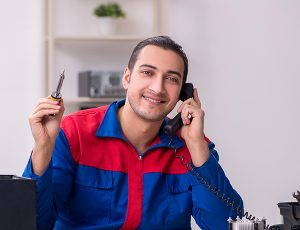 Business phone system repair guy